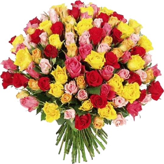 Букет роз в честь 8 Марта | https://nataliblog.ru